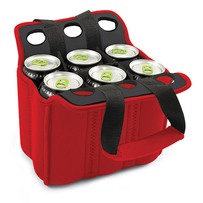 Picnic Time 608-00-100-000-0 Heavy Duty Six Pack Cooler - Holds (6) 12-oz Ca