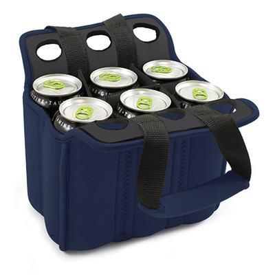 Picnic Time 608-00-138-000-0 Heavy Duty Six Pack Cooler - Holds (6) 12-oz C