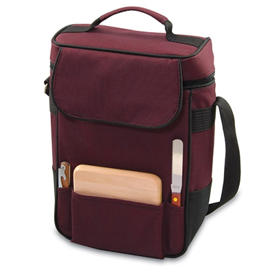 Picnic Time 623-04-118-000-0 Duet Wine Bottle Tote - 2-Comp