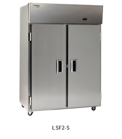 "Delfield Scientific LMF1-S 29"" Reach-In Freezer - (1) Solid Full Door, Aluminum/Stainless"