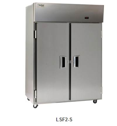 "Delfield Scientific LSF1-S 29"" Reach-In Freezer - (1) Solid Full Door, All Stainless"