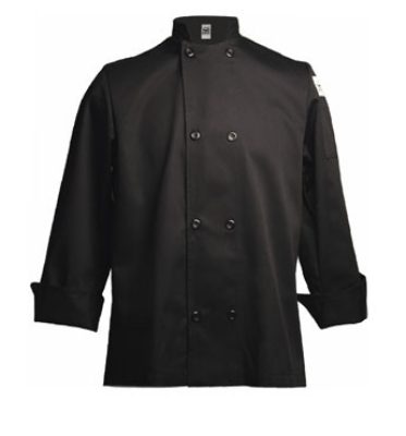 Chef Revival J061BK-3X Traditional Chef's Jacket Size 3X, Black