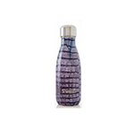 S'well LEAA-09-B14 9-oz Insulated Water Bottle - BPA Free, 18/8 Stainless, Aubergine Alligator