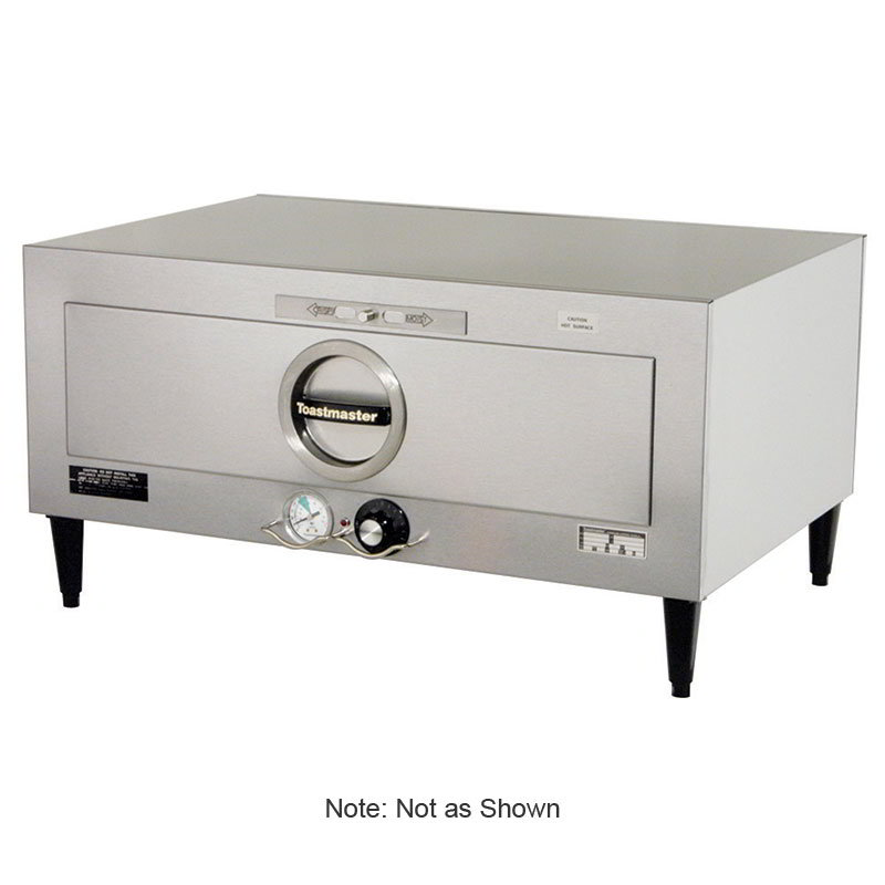Toastmaster 3A80AT09 120 Built-In Insulated Warming Drawer, 1 Drawers, 7 dz Rolls/Drawer, 120 V