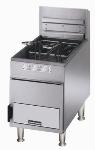 Toastmaster TMFG18 LP 18 lb Gas Fryer, Heavy Duty, Thermostat Control, Twin Baskets, NSF, LP
