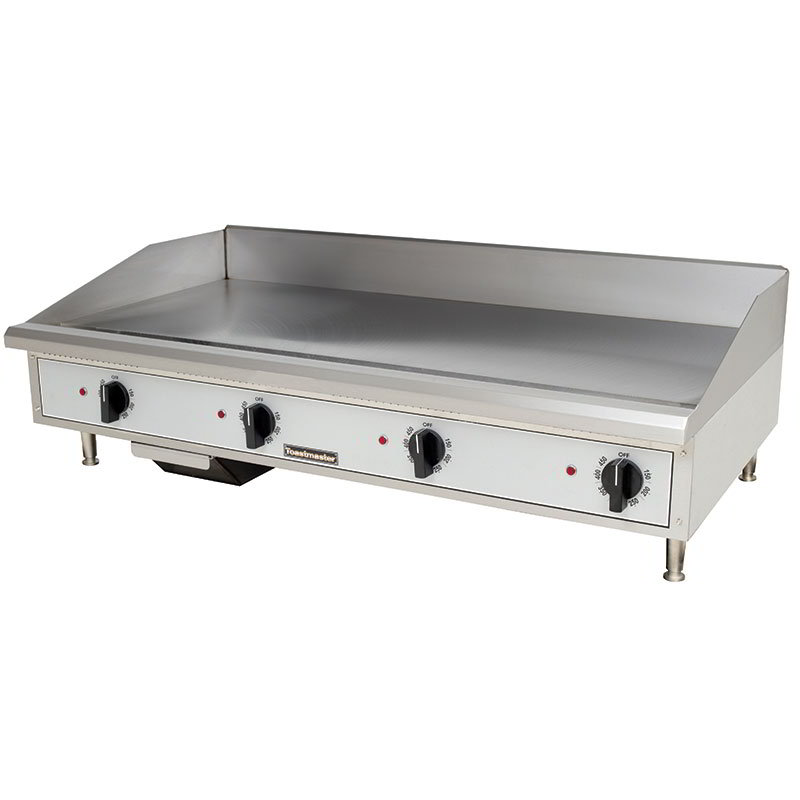 Toastmaster TMGE24 2081 24-in Countertop Griddle w/ 5/8-in Steel Plate, Stainless, 208/1 V