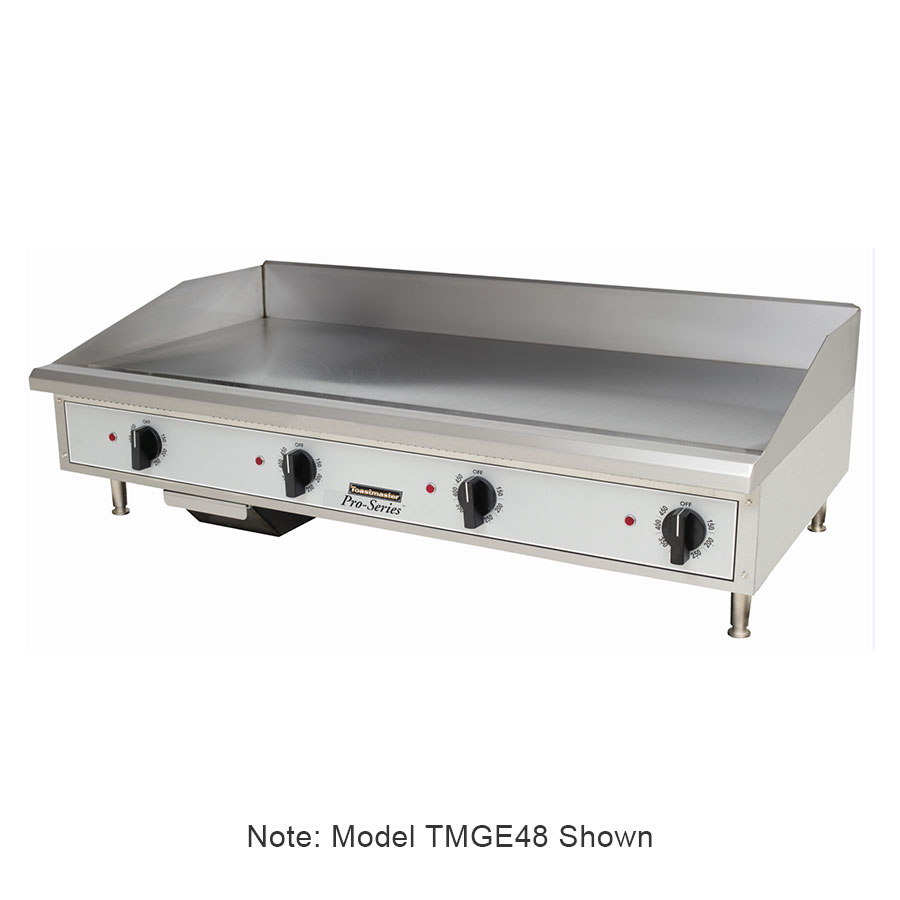 Toastmaster TMGE24 2403 24-in Countertop Griddle w/ 5/8-in Steel Plate, Stainless, 240/3 V