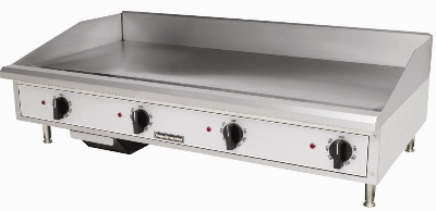 Toastmaster TMGE48 2081 48-in Countertop Griddle w/ 5/8-in Steel Plate, Stainless, 208/1 V
