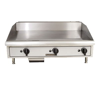 Toastmaster TMGM24 NG 24-in Griddle w/ 5/8-in Steel Plate, Manual Control, NG
