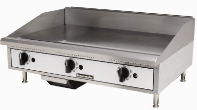 Toastmaster TMGT36 NG 36-in Griddle w/ 5/8-in Steel Plate, Thermostatic Control, NG