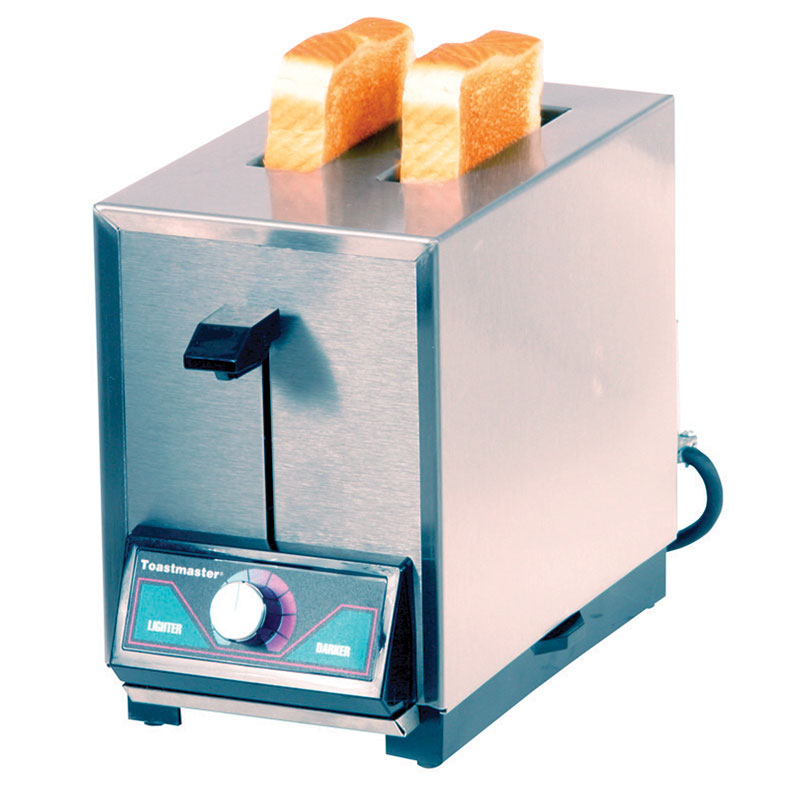 Toastmaster TP224 208/240 Pop Up Toaster w/ 2-Narrow Slots, 150- Slices/Hr, 208/240 V