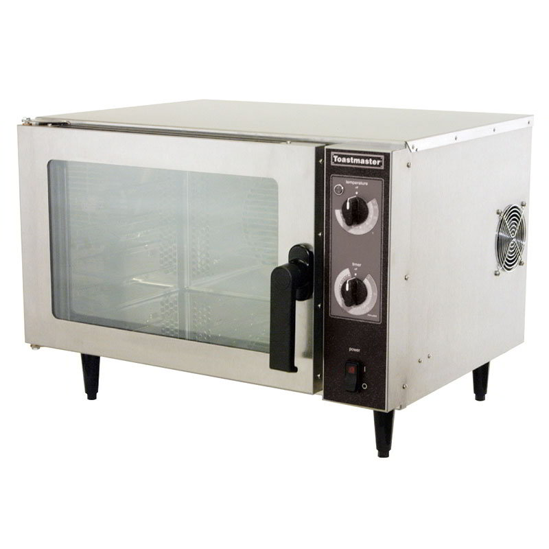 Toastmaster X0-1N 120 Counter Top Omni Convection Oven, SS, Glass Door, 4 in Legs, 120 V